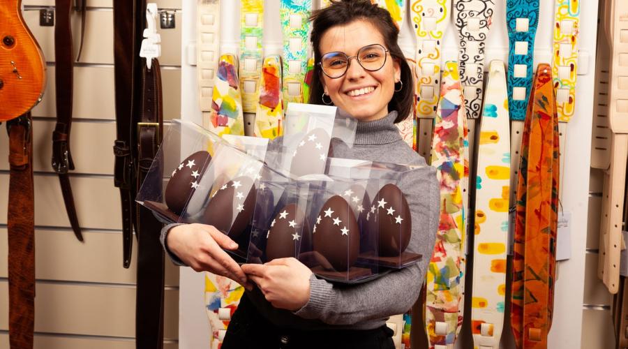 Uovo di Pasqua Magrabò Guerrino