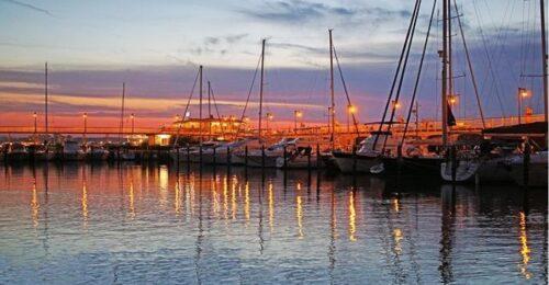 tramonti in riviera porto cattolica